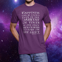 Happiness Can Be Found - Harry Potter Quote T-Shirt