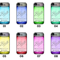 Ball Mason Jar - Available for iPhone 4 / 4S / 5 / 5C / 5S / Samsung Galaxy S3 / S4 / S5 - BMJ