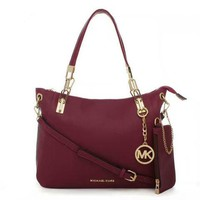 MICHAEL KORS Women Shopping Fashion Leather Chain Satchel Shoulder Bag Crossbody F-LLBPFSH