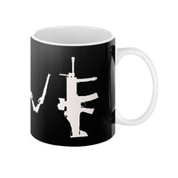 Gun Love Coffee Mug