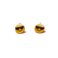 Emoji Sunglasses Earrings