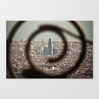 Agbar Stretched Canvas by Daniel Fornies