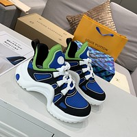 lv louis vuitton womans mens 2020 new fashion casual shoes sneaker sport running shoes 307