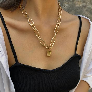 Vintage Multilayer Pendant Necklace Women Choker Necklaces Jewelry