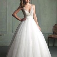 Allure Bridals 9103 Tulle Ball Gown Wedding Dress