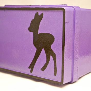 Sale 35% off - Deer card holder - Upcycle