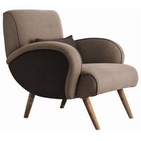 Arteriors Home Trilby Gray Linen/Wood Chair - Arteriors Home 6619