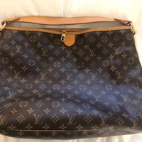 Louis vuitton delightful mm handbag