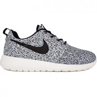 Nike Roshe Run - Sail Speckled  White & Black