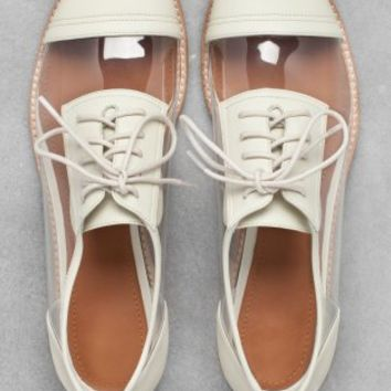 Abigail Lorick Oxfords | Warm Ivory | & Other Stories