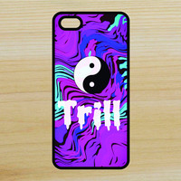 Yin Yang Trill Trippy Art Phone Case iPhone 4 / 4s / 5 / 5s / 5c /6 / 6s /6+ Apple Samsung Galaxy S3 / S4 / S5 / S6