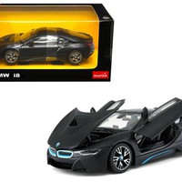 BMW I8 Matt 1:24 Diecast Model Car by Rastar