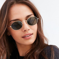 Vintage Metal  Shape small sunglasses