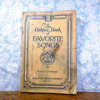 1930 Golden Book of Favorite songs