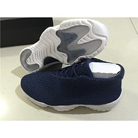 Air Jordan 11 blue/white Basketball Shoes 41-46