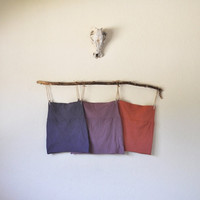 3 Pack Hand Dyed Mini Skirts in Stretch Knit Cotton by SewRed
