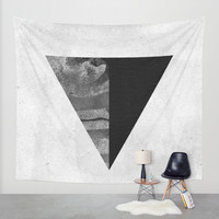 GEOMETRY 1 Wall Tapestry by LEEMO
