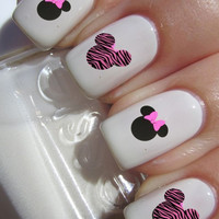 Mouse Nail Decals (1 sheet of 12 decals)