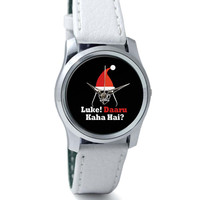 Luke ! Daru Kaha Hai | Dark Darth Santa Wrist Watch