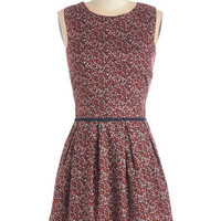 ModCloth Darling Mid-length Sleeveless A-line Your Best Buds Dress