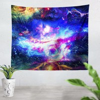 Lucid Galaxy Tapestry