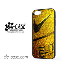 Nike Basketball Ball Gold Glitter DEAL-7777 Apple Phonecase Cover For Iphone 5 / Iphone 5S