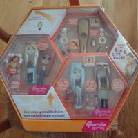 Barbie Girls Orange MP3 Player - Gift Pack 3 in 1
