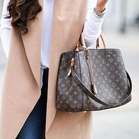 Louis Vuitton LV Classic Tote Handbag Bucket Bag Fashion Ladies Shoulder Messenger Bag