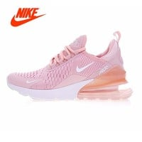 Original New Arrival Authentic Nike Air Max 270 Women's Breathable Running Shoes Sport Outdoor Sneakers Good Quality AH8050-004