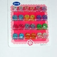 Goody Styling Essentials Girls Claw Hair Clips, Mini 24 Count