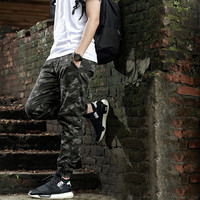 Heybig Brand Mens Joggers Pants Hip Hop Camouflage Trousers Camo Suit Men Military Skateboard Sweatpants Chinese Size