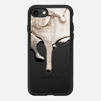 LIQUID NUDE FAUX GLITTER by Monika Strigel iPhone 6 iPhone 7 Hülle by Monika Strigel | Casetify