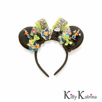 Goofy Disney Ears Headband, Mouse Ears, Goofy Mickey Mouse Ears, Disney Headband, Goofy Costume, Disney Bound, Disneyland, Disney World