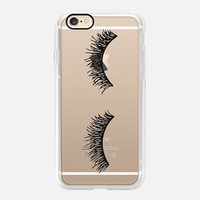 Puzzling Eyelash Wink iPhone 7 Case by Sweet Water Decor, LLC | Casetify (iPhone 6s 6 Plus SE 5s 5c & more)