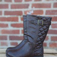 Bella Riding Boot {Brown}