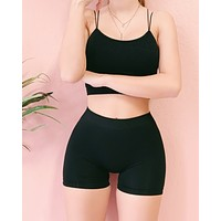 RESTOCKED! ESSENTIALS SPANX (BLACK)