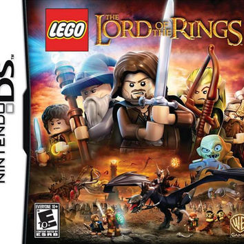 LEGO Lord Of The Rings - Nintendo DS (Very Good)