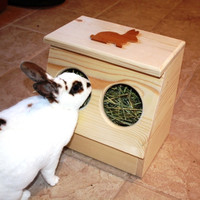 Bunny Rabbit Hay Feeder