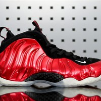 "Nike Air Foamposite One 314996-610 ""Metallic Red"""