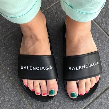 Balenciaga Fashion Slippers Sandals Shoes