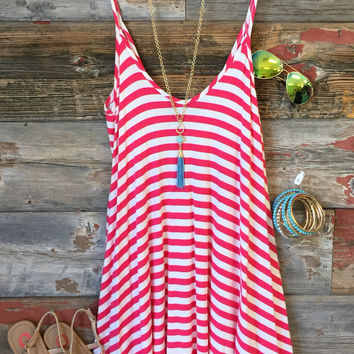 Seascape Striped Tunic
