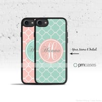 Monogram Case Cover for Apple iPhone iPod Samsung Galaxy S & Note Series