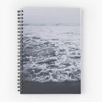 'Out to Sea' Spiral Notebook by Leah Flores
