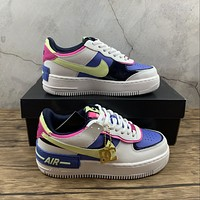 Morechoice Tuhz Nike Air Force 1 Shadow Low Sneakers Casual Skaet Shoes Cj1614-100