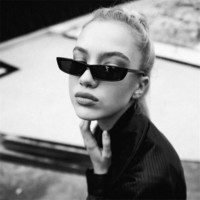 sunglasses 2018 Vintage Cat Eye Women Fashion Small Frame Ladies Retro Personali