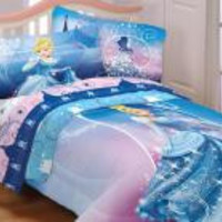 Cinderella Twin Sheet Set Secret Princess Bedding