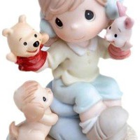 Precious Moments Disney Collection, It's So Much More Friendly With Two