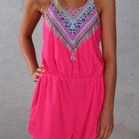 Speculation Playsuit Pink - Dresses - Shop by Product - Womens