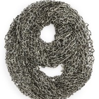David & Young | David & Young Open Knit Infinity Scarf (Juniors) | Nordstrom Rack