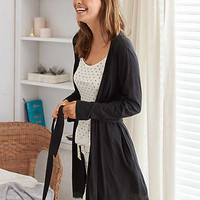 Aerie Robe, True Black